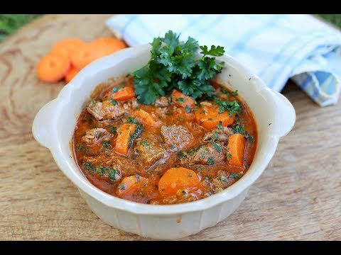 Easy Beef and Carrot Stew: Simple one pot dish with great flavours