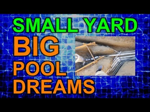Plumbing Time Lapse Video - Small Yard Big Pool Dreams Ep 10