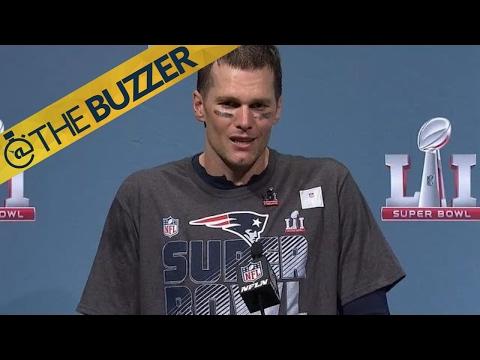 Tom Brady says he's exhausted | @TheBuzzer | FOX SPORTS