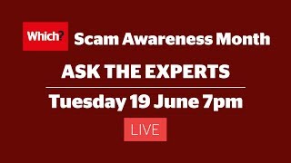 Scam Awareness Month 2018 - Ask the Experts - Live stream