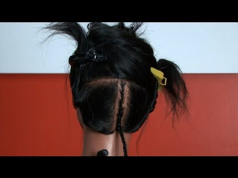 How to Braid Two Layers of Cornrows : Cornrows