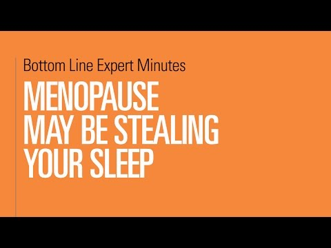 Menopause May Be Stealing Your Sleep