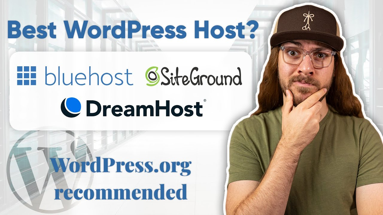 Best WordPress Hosting? | Bluehost vs. SiteGround vs. DreamHost COMPARED