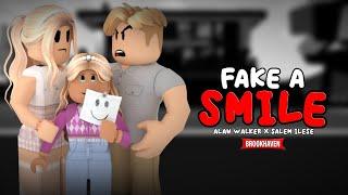 "Alan Walker x salem ilese - ""Fake A Smile"" ♫    ROBLOX SAD STORY BROOKHAVEN"