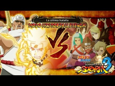 Naruto Shippuden: Ultimate Ninja Storm 3 Walkthrough + Full Burst - Parte 31 |Capitulo Final Naruto Vs Jinchurikis Gameplay Español/Japanese 1080p Xbox360/PS3