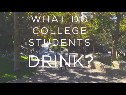 What Do College Students Drink?