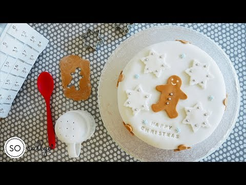 BAKE: Decorate Your Christmas Cake, Marzipan and Icing!