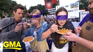 GMA's Taste Test Touchdown for College Game Day | GMA