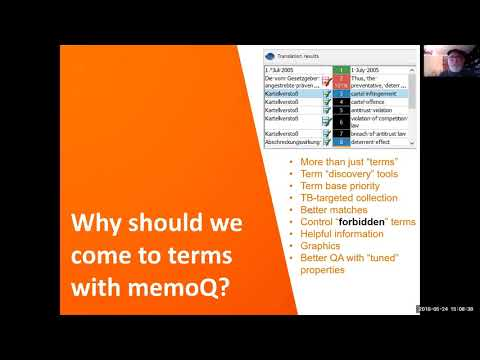 Getting on Better Terms with memoQ