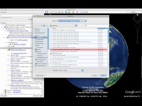How to share Google Earth files
