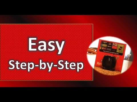 How to Set Up and Install Roku 3 Step by Step Unbox, Connect from Start to Finish
