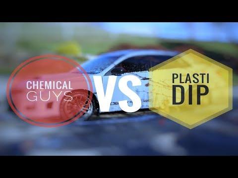 Will CHEMICAL GUYS clean PLASTI DIP???
