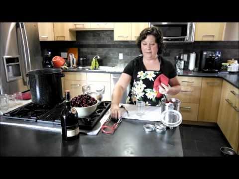 How to Make Brandied Cherries.wmv