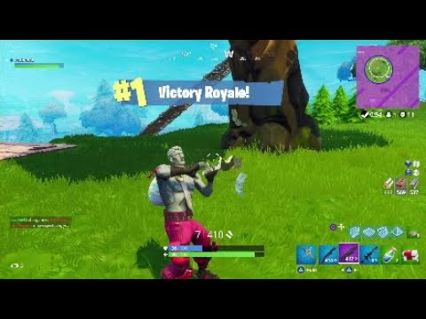 DOUBLE SHOGUN ROCKET STRAT 11 KILL WIN - Fortnite Battle Royale