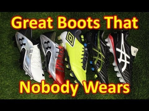 Great Soccer Shoes/Football Boots That Nobody Wears - Mid 2013