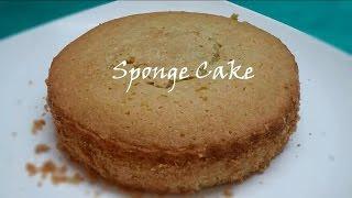 Sponge Cake In Microwave Oven In Easy Way