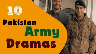 Top 10 Best Pakistan Army Drama Serial List | Most Patriotic Dramas of all times | B4U Official