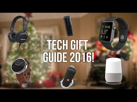 BEST Holiday Tech Gift Guide 2016!