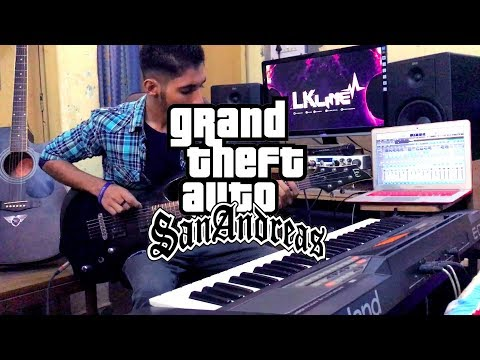 Grand Theft Auto San Andreas Theme | LKline Instrumental cover