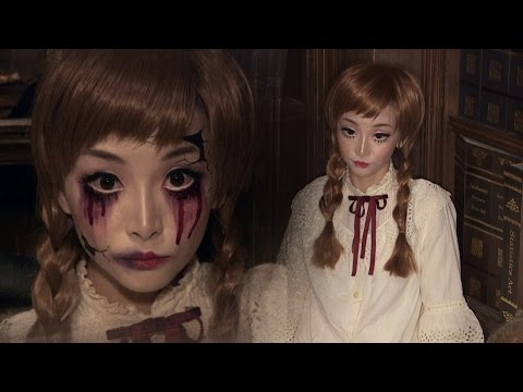 Vintage Doll + Broken Doll ✞ Halloween Makeup | ハロウィン ✞ ドールメイク