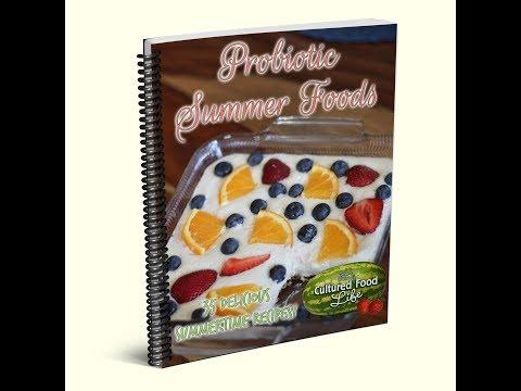 Probiotic Summer Foods eBook