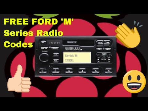 FREE FORD M SERIES RADIO CODES, códigos de radio ford gratuitas para la radio de serie