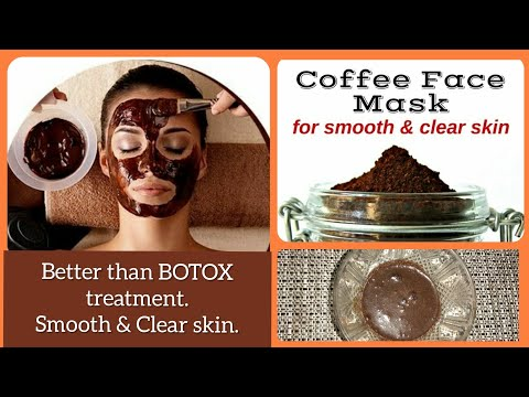 How to get smooth and clear skin: Face Scrub & Face mask
