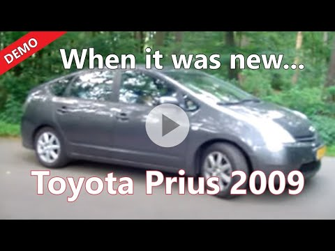 The car without a noise - Toyota Prius Hybrid driving pure electrical