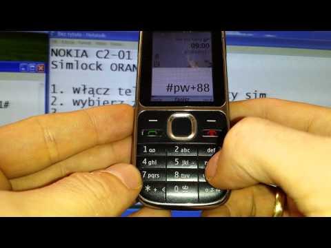 Simlock Nokia C2-01 jak wpisać kod - Odblokowanie simlocka