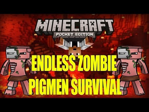 ENDLESS PIGMEN SURVIVAL - Minecraft PE [Pocket Edition] 0.7.6