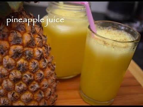 Pine apple Juice/ Summer drinks / Fresh fruit Juice/ Pine apple juice in Vaishnavi Channel