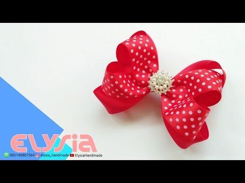 Laço Boutique Sobreposto Grosgrain Ribbon 2.5 cm 🎀 DIY by Elysia Handmade