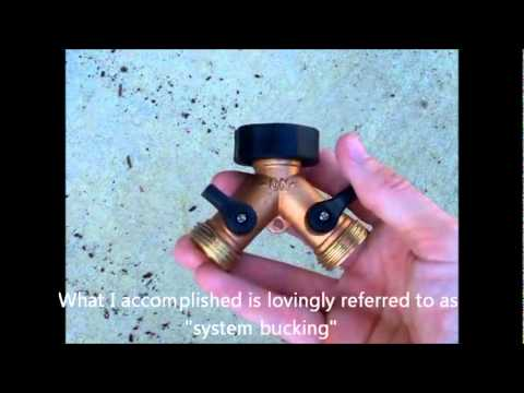 How To Get Water Hose Access in an Apartment or House Without Outdoor Faucets