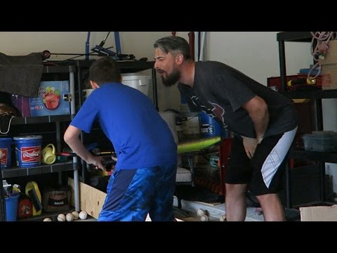 HIT IN THE JUNK WITH A BASEBALL BAT | ERIKTV365