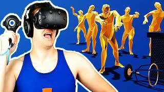 Incoming Zombie-Aliens! - Zombie Hobby VR Gameplay - HTC Vive VR