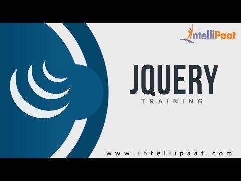 Jquery Tutorial |Jquery Tutorial For Beginners |Jquery Online Tutorial | Intellipaat