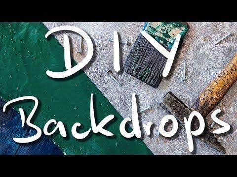 DIY (Food) Photography Backdrops