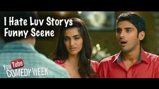 I Hate Luv Storys I Imran Makes a Dig At Sonam's Fiance I Funny Scene