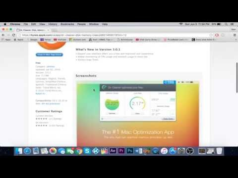 How To Clean Your Mac 2016 (Mac OSX El Capitan) Dr Cleaner
