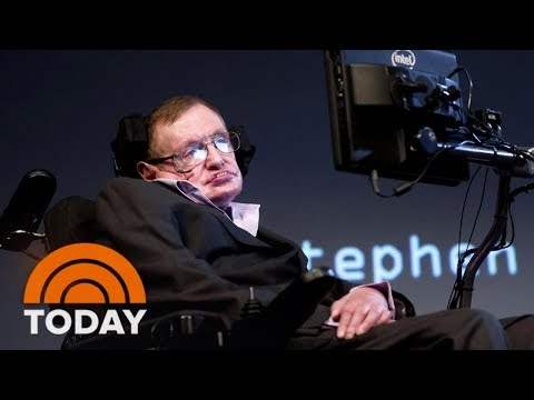 Stephen Hawking Dies At 76, The Physicist Who Wrote 'A Brief History Of Time' | TODAY