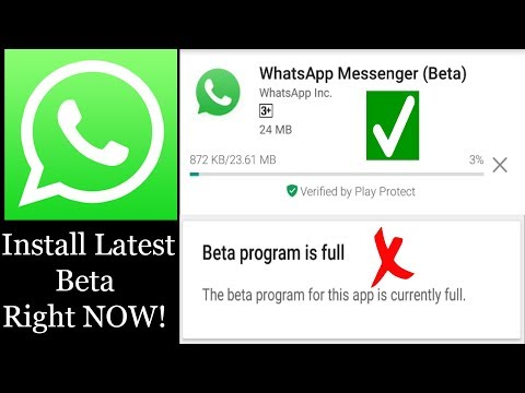 How to Fix Beta program is full for WhatsApp