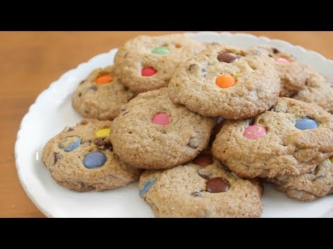 Smartie Cookies | SweetTreats