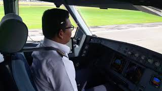Download A330 Landing at Sultan Hasanudin international airport of Indonesia