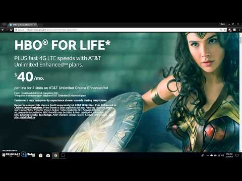AT&T Unlimited Plus Enhanced & AT&T Unlimited Choice Enhanced