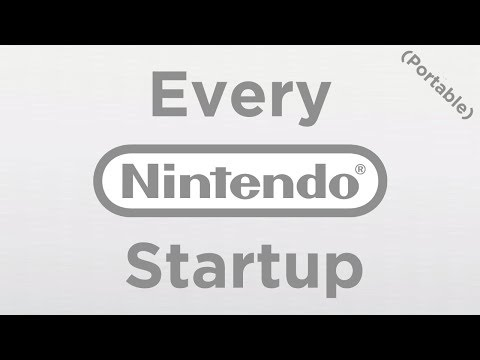 [HD|60FPS] Every Nintendo Portable/Handheld Startup Screen! (GBC, GBA, DS, 3DS and more!)