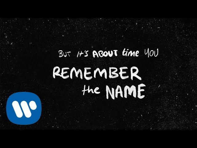 Ed Sheeran - Remember The Name (feat. Eminem & 50 Cent)