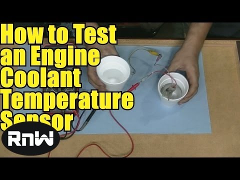 How to Test an Engine Coolant Temperature Sensor - Using a Basic Multimeter