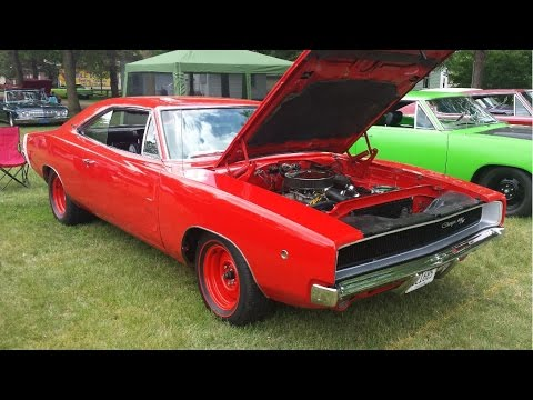 1968 Dodge Charger R/T - Car Show Walk-around