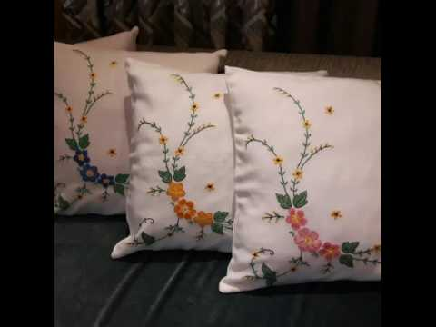 Hand Embroidery Designs Design For Dresses Stitch And Flower 40 Cool Pillow Cover Hand Embroidery Designs