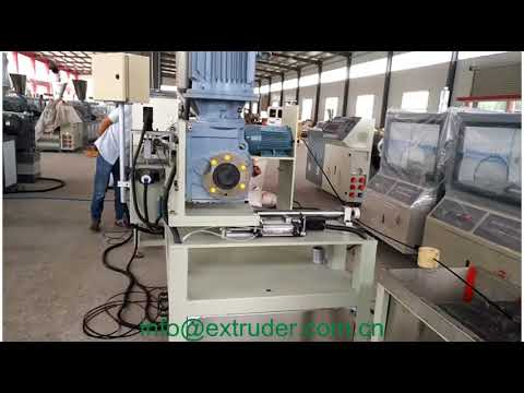 swimming pool vacuum cleaning hose extruder
